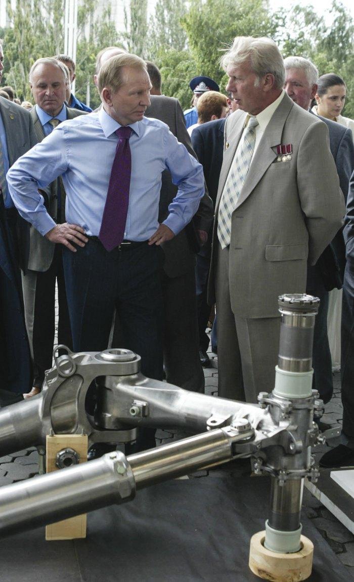 На заводі 'Південмаш', 23 липня 2004 року