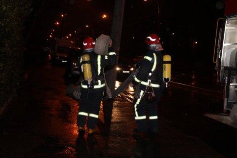 В Киеве произошел пожар на предприятии