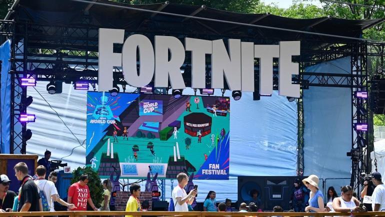 Під час кубку з Fortnite