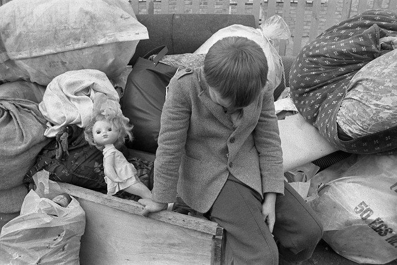 8 травня 1986 року, Чорнобиль. Евакуація з зони