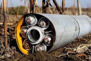 СНБО отрицает использование военными кассетных боеприпасов