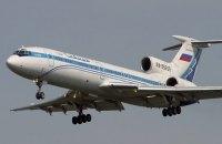 Експерти відкидають версію про теракт на борту російського Ту-154