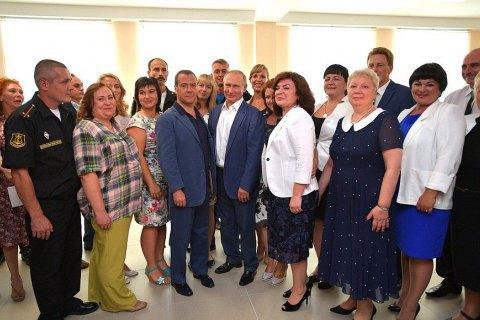 Україна висловила протест через візит Путіна в Севастополь