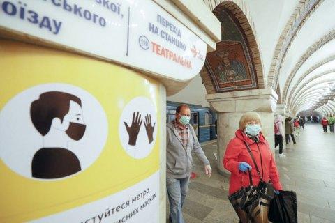 Киевское метро в 2020 году перевезло вдвое меньше пассажиров, чем годом ранее