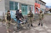 Немец на велосипеде пытался пробраться через границу в Украину