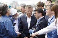 Зеленський і мер Дніпра уклали парі: Філатов піде у відставку, якщо не відкриє міст 14 вересня