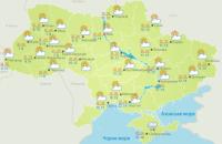 В Україні у неділю буде без опадів та до + 27