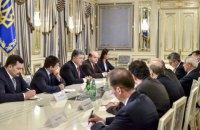 Порошенко закликав світ до нових санкцій у разі зриву Мінських домовленостей
