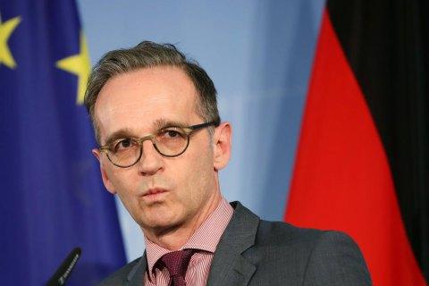 """Голова МЗС Німеччини визнав агресивні дії Росії, але закликав """"підтримувати з нею діалог"""""""