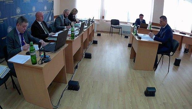Співбесіда Вадима Коротуна на ВККС