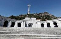 Влада Іспанії визначилася з датою перепоховання диктатора Франко