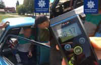 В Полтаве выявили водителя с превышением дозы алкоголя в 16 раз