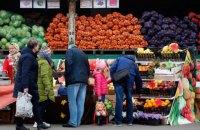 В Киевской области возобновили работу 13 продуктовых рынков