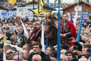 Запорожские казаки призвали российских покинуть Донбасс