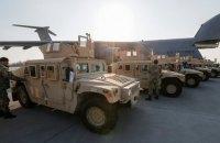 США в июле передадут Украине еще 100 джипов Humvee
