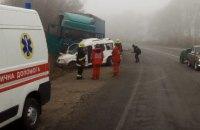 Двоє дорослих і дитина загинули у ДТП у Хмельницькій області