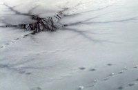Погибли трое рыбаков, провалившихся под лед