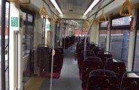 В Киеве из-за обрыва проводов останавливалось движение скоростного трамвая