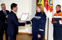 Шкиряк раздал награды за непальскую операцию