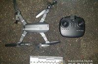 В Киеве пытались передать наркотики в СИЗО с помощью дрона