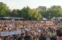 Сміттєвоз розібрав частину барикад протестувальників у Єревані