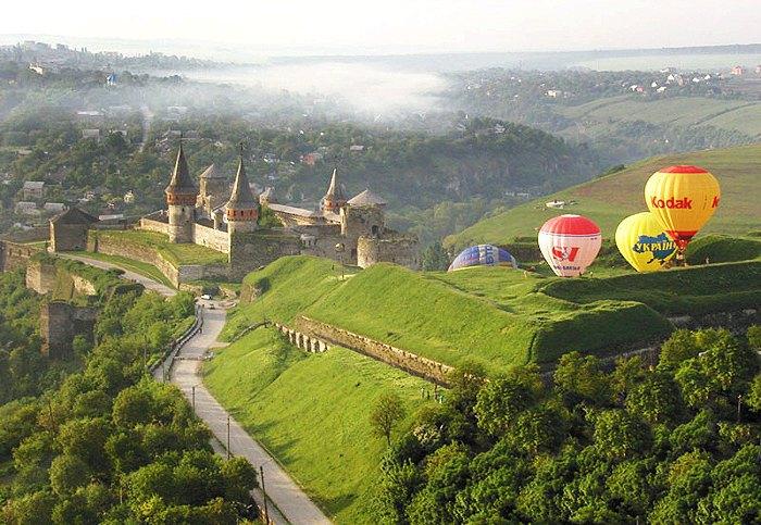 Фестиваль повітряних куль у Кам'янці-Подільському.