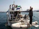 """Спецназ Израиля взял на абордаж судно """"флотилии свободы"""""""