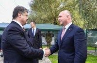 Порошенко встретился с премьером Молдовы на границе