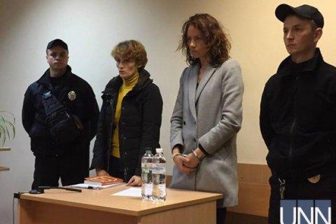 Суд заарештував жінку, яка втопила двох своїх дітей в озері у Києві