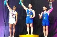 Ігор Радівілов здобув золото в опорному стрибку на етапі Кубка світу в Австралії