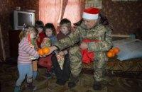 Москаль побув Дідом Морозом