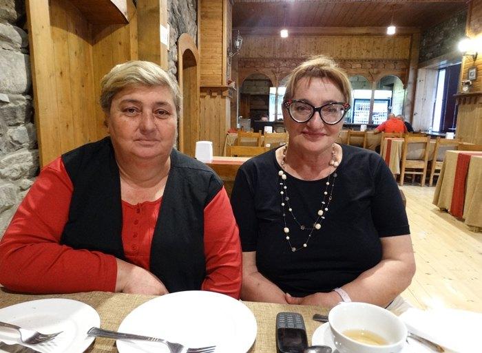 Манана Саґліяні і Нарґіс Ніґуріані