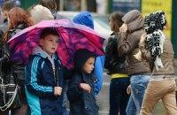 Вторник в Украине будет дождливым