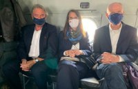 Главы МИД Бельгии, Нидерландов и Люксембурга съездили в зону ООС