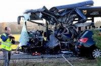 В Германии столкнулись два школьных автобуса, есть пострадавшие
