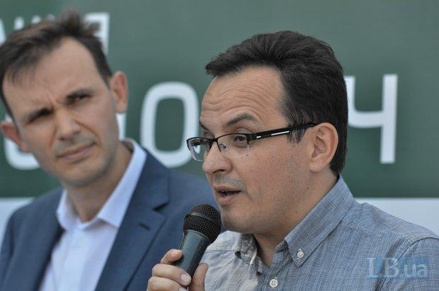 Лидер фракции в парламенте Олег Березюк