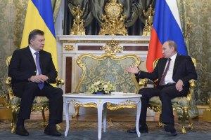 Янукович с Путиным подписали 14 документов по итогам заседания
