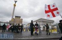 "На Майдане простились с двумя погибшими бойцами ""Айдара"""