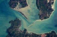 Астронавт NASA показал, как выглядит Керченский мост из космоса