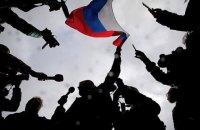 В центре Москвы силовики задержали более 200 человек