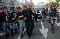 """""""Беркуту"""" удалось """"отбить"""" автозак с Тимошенко у депутатов"""