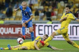 Україна скотилася на 15-те місце в рейтингу УЄФА