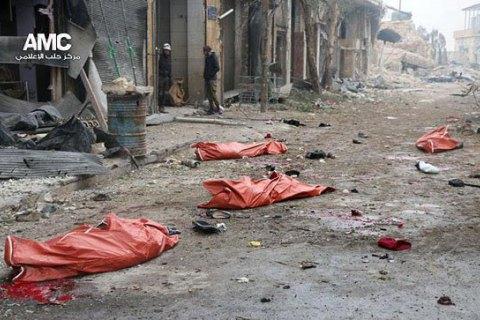 Атлантический совет обнародовал доклад о действиях России и Асада в Алеппо