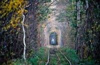 """Въезд в """"Тоннель любви"""" в Ровенской области станет платным"""
