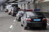 Янукович передвигается по Закарпатью на 13 автомобилях