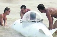Одессит построил мини-субмарину, которую увидел во сне
