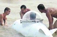 Одесит побудував міні-субмарину, яку побачив уві сні
