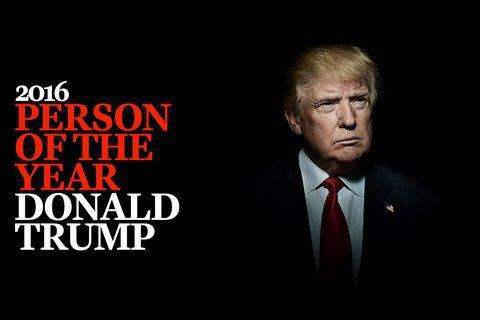 """Time назвав Трампа """"Людиною року"""""""