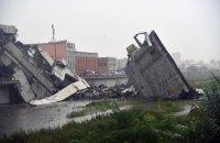 В Генуе ввели чрезвычайное положение после обрушения моста