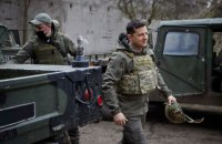 Зеленський: Україна не піде в наступ на Донбасі і захист Росії там не потрібен